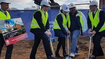 Stage 4 construction begins for new clinical building